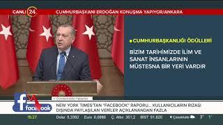 Cumhurbaşkanı Erdoğan Kültür Sanat Büyük Ödülleri Töreni