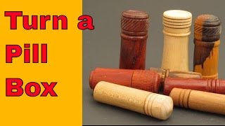 How to Turn a Pill Box