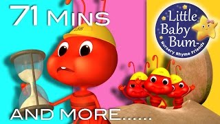 Ants Go Marching | Plus Lots More Nursery Rhymes | 71 Minutes Compilation from LittleBabyBum!