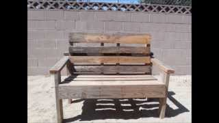Pallet Bench (Simple to build)