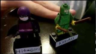 Custom Lego KICK-ASS 2 minifigures