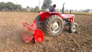 Massey Ferguson 260 Tractor Model 2017 with Equipments