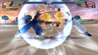 Gogeta and Vegeto Fusion Dance : Vegota ? (Dragon Ball Z Budokai Tenkaichi 3 mod)