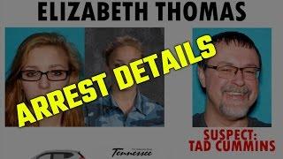 Tennessee Bureau of Investigations officials discuss details of Tad Cummins arrest