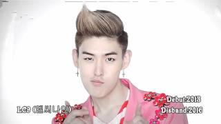 Disbanded Kpop Groups