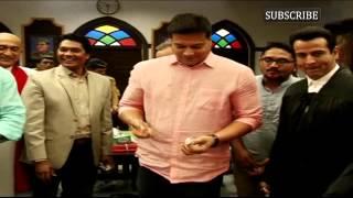 Daya of CID Celebrated His Birthday on Adalat's Set