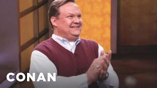 Andy Richter To Replace Retiring Talk Show Legend