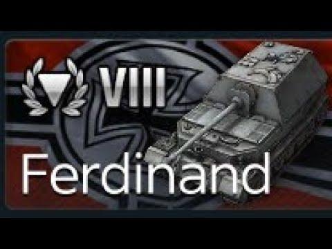 wotblitz Ferdinand master World of Tanks Blitz