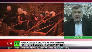 BREAKING NEWS: RAGE RIOTS PUBLIC ANGER AS TURKISH BLAMES UNREST ON FOREIGN EXTREMISTS VIOLENT CLASH