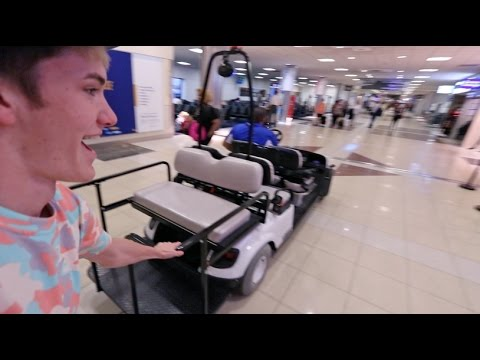 MOST FUN THING TO DO IN AN AIRPORT