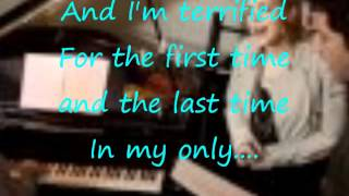 Terrified by Katherine McPhee ft. Zachary Levi(w/ lyrics)