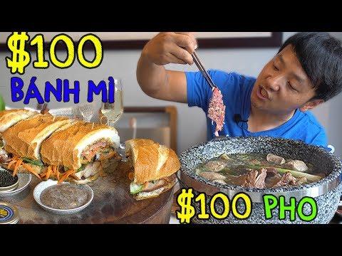 100 DOLLAR Pho & 100 Bánh mì in Saigon Vietnam
