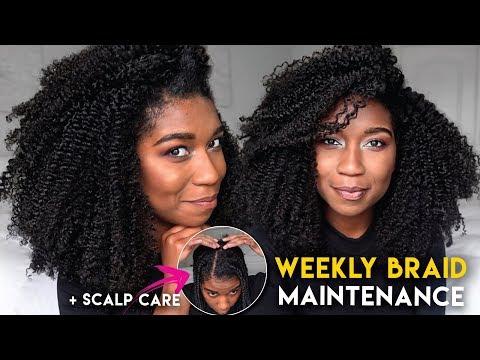 Xxx Mp4 SCALP CARE Maintaining BOX BRAIDS Through The Week JUICY BRAID OUT Ft Melanin Haircare 3gp Sex