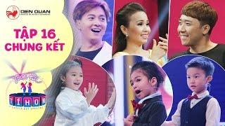Biệt tài tí hon | tập 16 chung kết full: Cẩm Ly, Trấn Thành không thể rời mắt trước quán quân mùa 1