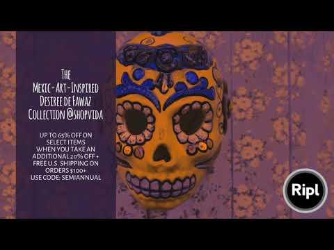 Xxx Mp4 The Mexic Art Inspired Desiree De Fawaz Collection Shopvida 3gp Sex