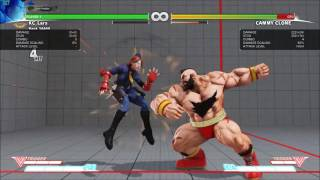 Street Fighter V Mysterious Mod r4 - Zangief Marvel Combos