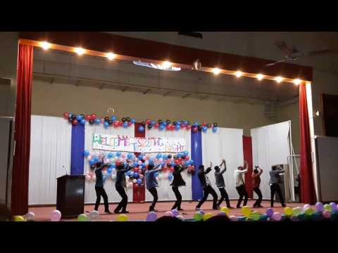 Welcome Dance Performance - Chemistry Department - UAF Faisalabad