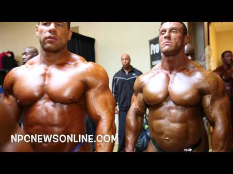 2016 IFBB NY Pro Backstage Bodybuilding Video