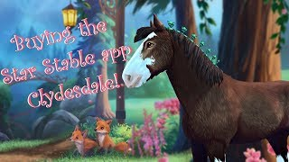Buying the Star Stable App Clydesdale & Meet the Clydesdale Team