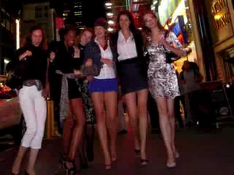 Tall Outstanding Women take over Times Square