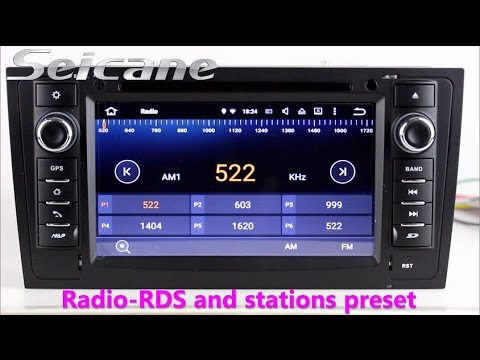 Seicane 1997-2004 AUDI A6 S6 RS6 radio gps navigation cd dvd audio system with SWC DVR