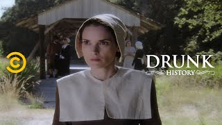 Mary Dyer Takes a Stand for Religious Freedom (feat. Winona Ryder) - Drunk History
