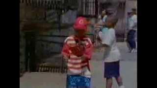 Sesame Street film - a white boy visits Jamal's house
