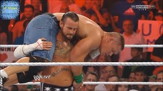 WWE   The Rock saves John cena in St  Louis