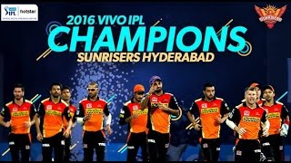 IPL-T20-2016 Champions