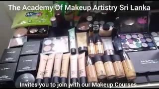The Academy of Makeup Artistry Sri Lanka by Thilini Perera