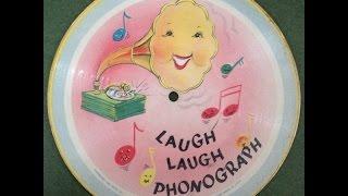 """Bob Kennedy """"Laugh Laugh Phonograph"""" 1948 Voco., Inc. Picture Disc 78 Record"""