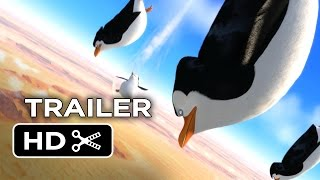 Penguins of Madagascar Official Trailer #2 (2014) Benedict Cumberbatch Movie HD