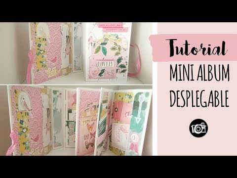 TUTORIAL MINI ALBUM DESPLEGABLE CON SOBRES