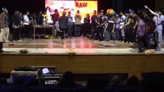Raw Circles 1 on 1 all style battle Dimitri (CKN) vs kira (BBT) vs  Poppin CC (IAHH)