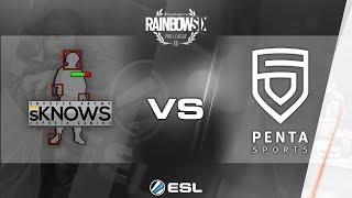 Rainbow Six Pro League - Season 3 - PC - EU - sno0ken Knows Esports Gaming vs. PENTA Sports - Week 6