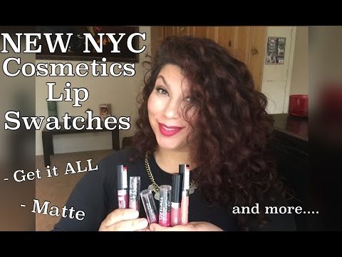 NEW NYC LIPPIES - Get It All . Matte and Expert Last Lip Lacquer