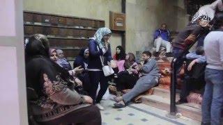 التحرير فيديو | عمال هيئة الأوقاف يطالبون بتدخل السيسي لحل مشاكلهم