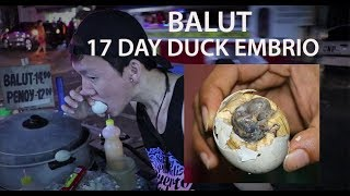 BALUT EXTREME FOOD IN PHILLIPINES | DUCK EMBRYO