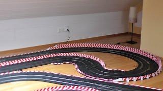 Carrera Rennbahn Tagebuch - #5 - Doppel - Leitplanke bauen