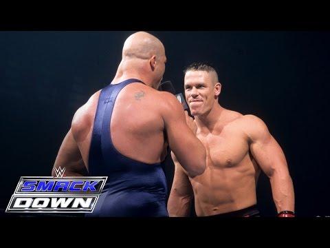 John Cena s WWE Debut vs. Kurt Angle SmackDown June 27 2002