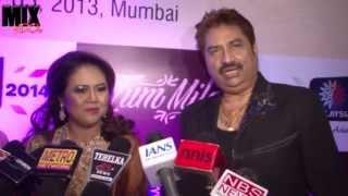Kumar Shanu with Wife on Tum Mile Music Launch