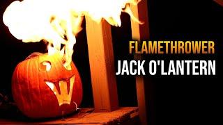 Jack o' Lantern that BREATHES FIRE?! 🔥
