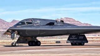B-2 Bomber Flight Operations At Nellis AFB (2018)