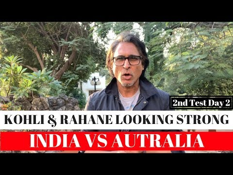 Xxx Mp4 Kohli Amp Rahane Looking Strong India Vs Australia 2nd Test Day 2 3gp Sex