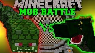 NAGA VS BASILISK - Minecraft Mob Battles - Arena Battle - Twilight Forest and OreSpawn Mod Battle
