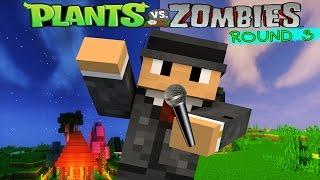 Minecraft : Plant Vs Zombie Series # 16 การทดสอบปล่อยซอมบี้รอบที่ 3 ซอมบี้ยักษ์