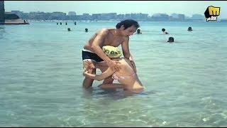 مشهد غريب للزعيـم في البحر !! | فيلم الأزواج الشياطين