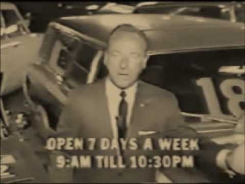 60s CAR SALESMAN TELLS IT LIKE IT IS Rated R for Strong Language Classic TV Commercial