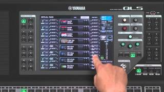 CL/QL Series Training Video: 3.6. Adding the default effects to your mix (for QL)