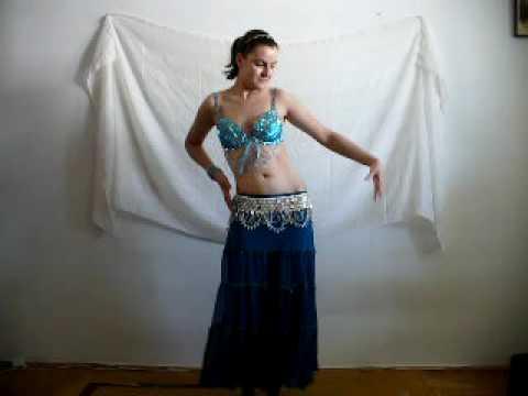 RachelBellyDancer drum solo short choreography; taniec brzucha drum solo